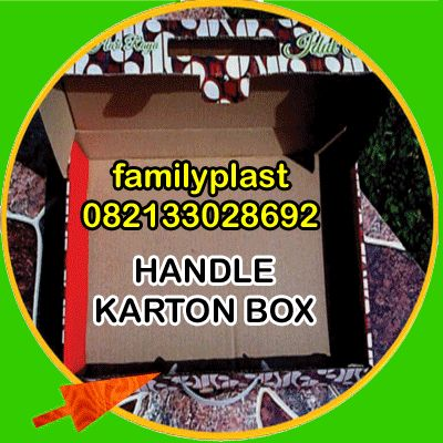 FAMILY PLASTIC: Handle Karton Box , contoh pemasangan, Artistic , ...