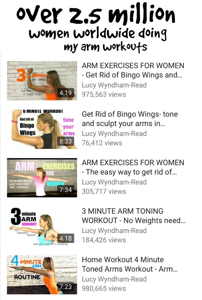 how to get rid of bingo arms