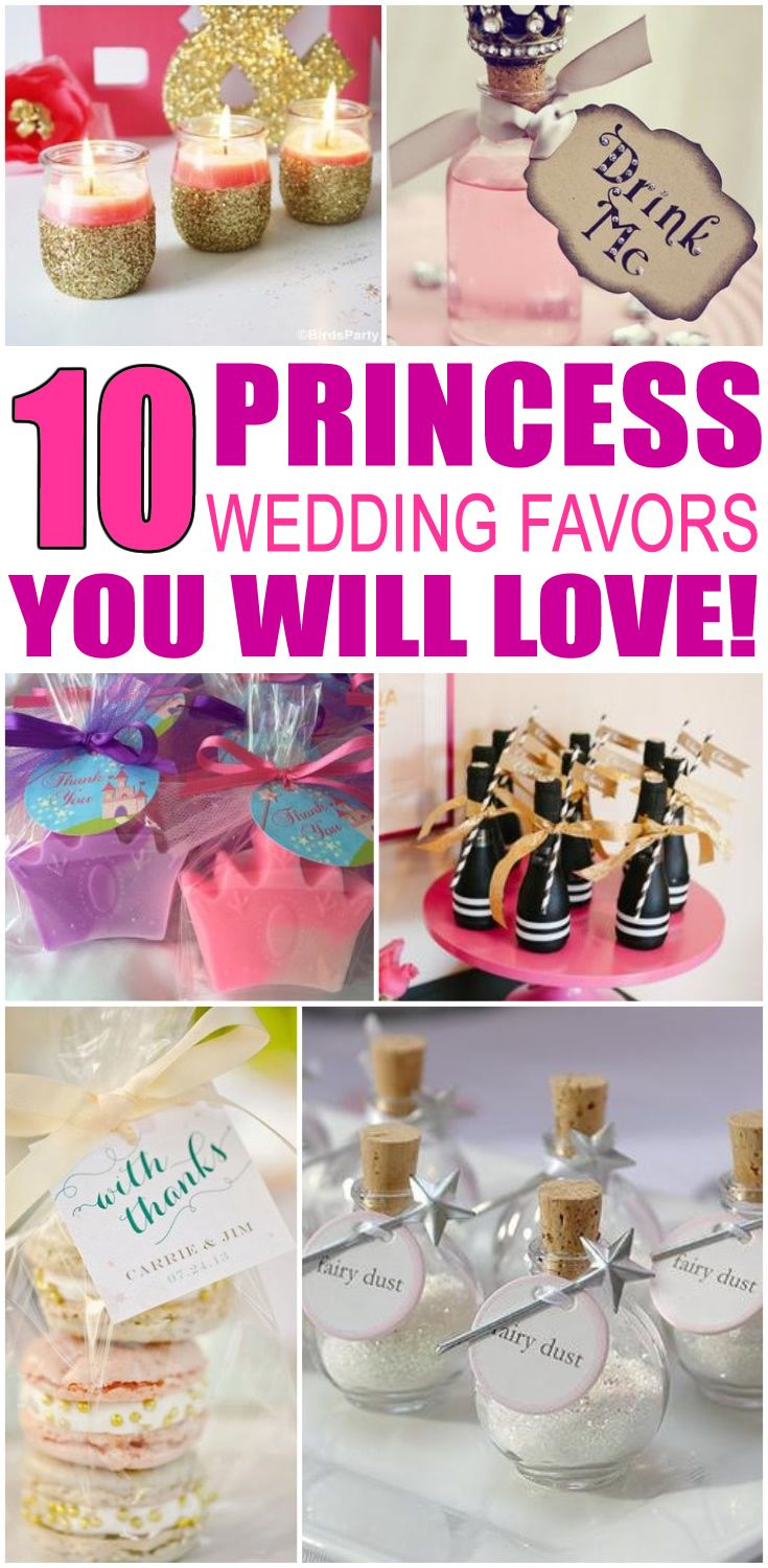 Princess Wedding Favors | Wedding Ideas | Pinterest | Princess theme ...