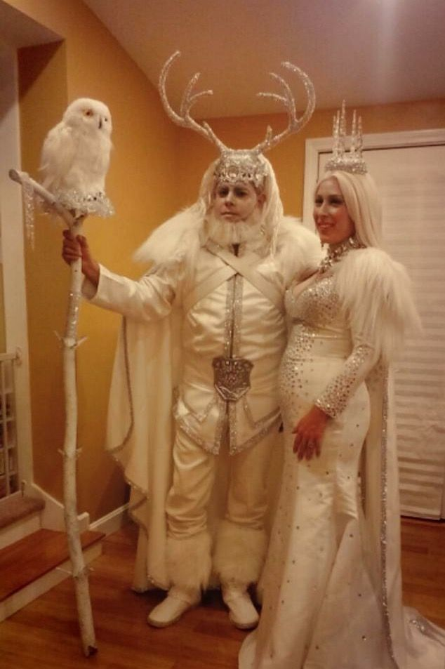 Ice king and queen costume