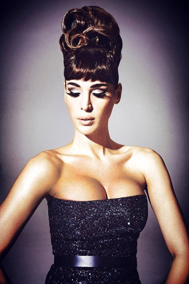 Carmen Carrera serving Audrey Hepburn realness