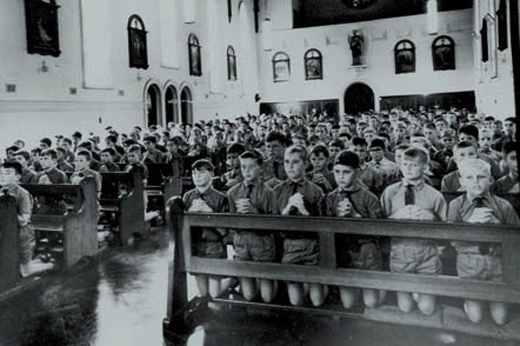 Clontarf Boys Town, outside Perth, Western Australia. Posted by Michael Gormley on his blog.