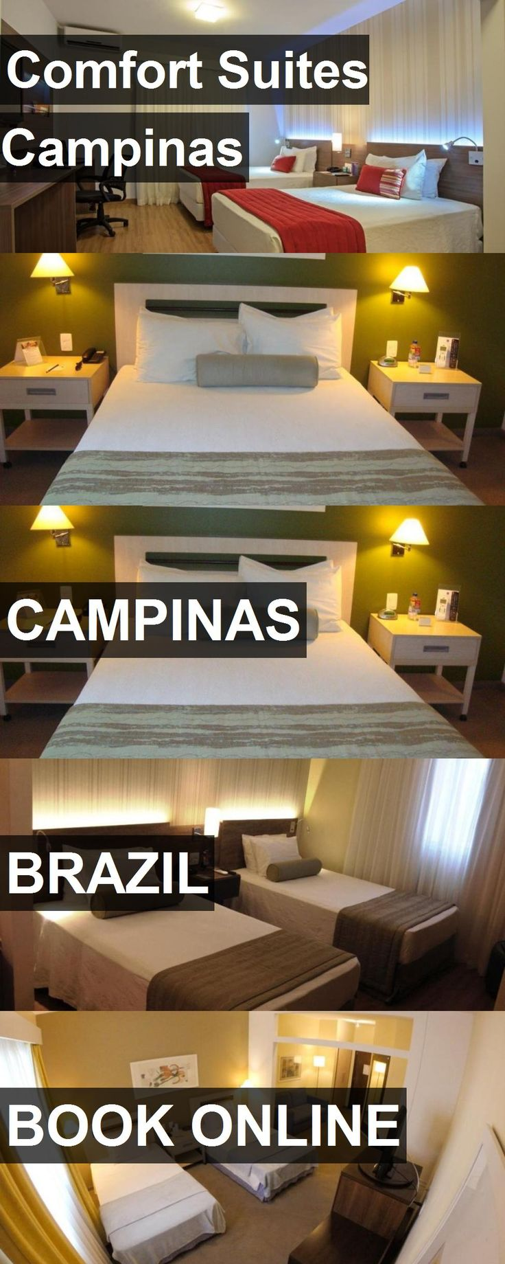 Hotel Comfort Suites Campinas in Campinas, Brazil. For more information, photos, reviews and best prices please follow the link. #Brazil #Campinas #travel #vacation #hotel