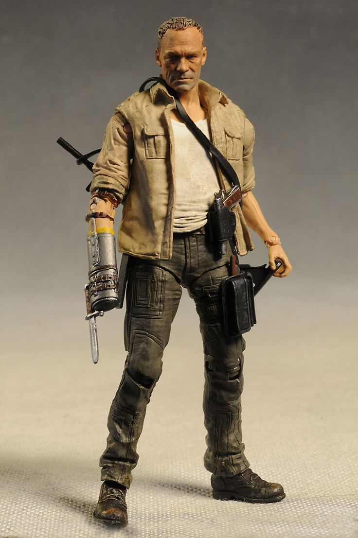 Merle Walking Dead action figure by McFarlane Toys