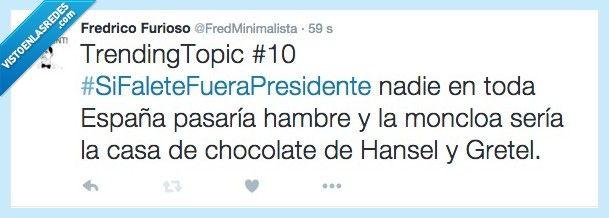 ¡Se nota, se siente, Falete Presidente! por @FredMinimalista   Gracias a http://www.vistoenlasredes.com/   Si quieres leer la noticia completa visita: http://www.estoy-aburrido.com/se-nota-se-siente-falete-presidente-por-fredminimalista/