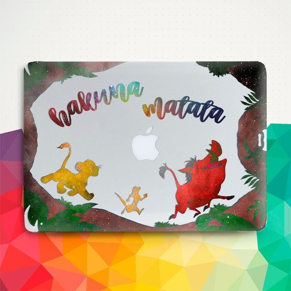 Disney Macbook case Quote Macbook Air 13 inch 2018 Pro 13 15 Macbook 12 The Lion King Girl Animal Funny Kawaii Kid Cartoon Retina Hard cover