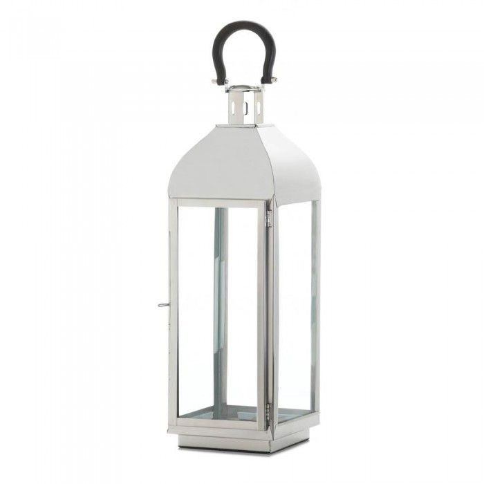 Gallery of Light 10017401 Tribeca Large Candle Lantern