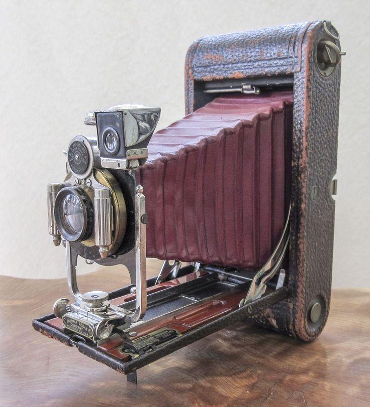 KODAK No. 3-A Folding Pocket Camera (Model B-4) Sept. 9 1902 Patent Date