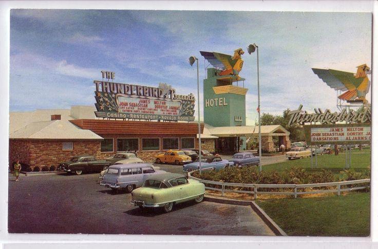 Las Vegas NV Nevada Thunderbird Hotel.