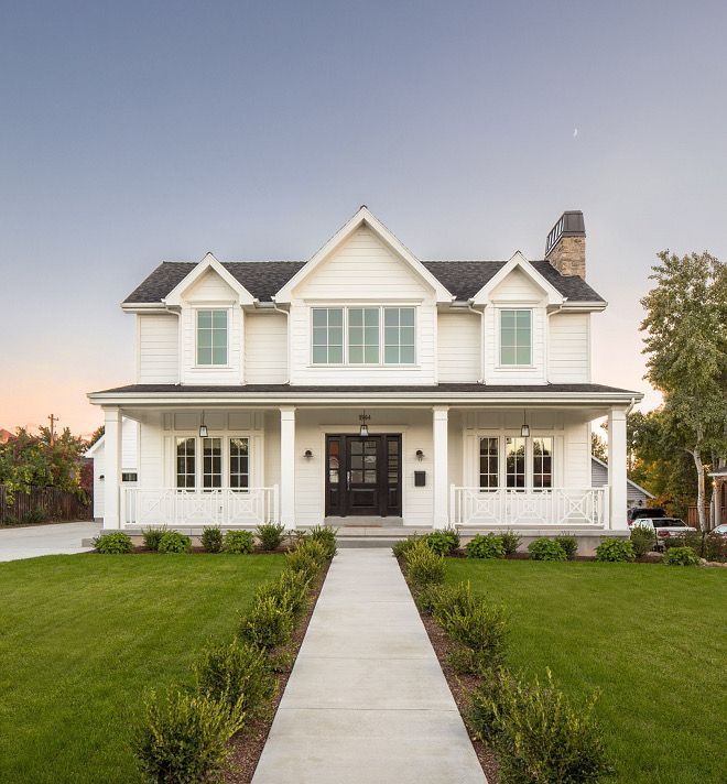 best 25+ white farmhouse exterior ideas only on pinterest