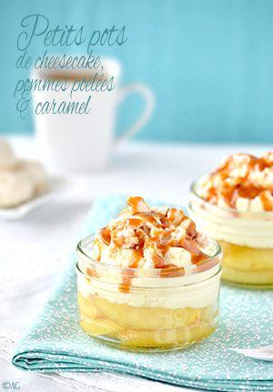 Alter Gusto | Petits pots de cheesecake, pommes poêlées & caramel -