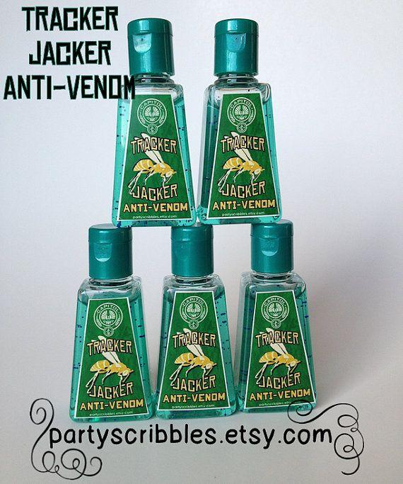 Tracker Jacker AntiVenom Printable Labels