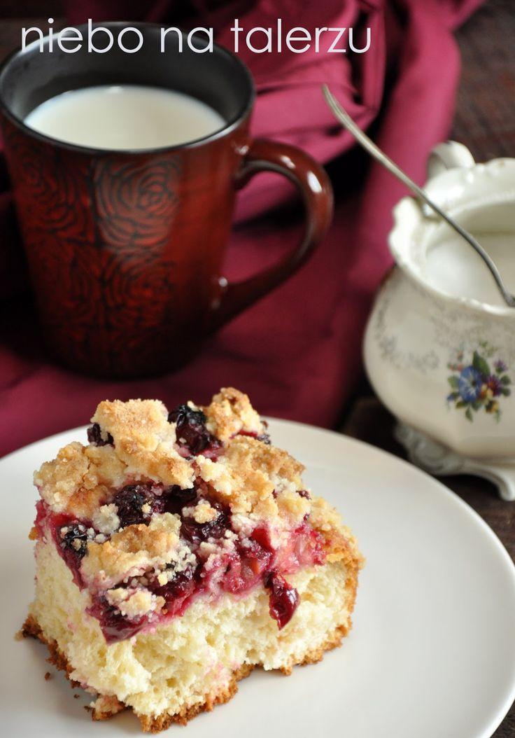 Wiśnie, kruszonka i miękkie, drożdżowe ciasto - cudo. Klasyczne. Domowe. Puszyste. Tradycyjne. Wilgotne. Najlepsze i łatwe :) Mam słabość do...