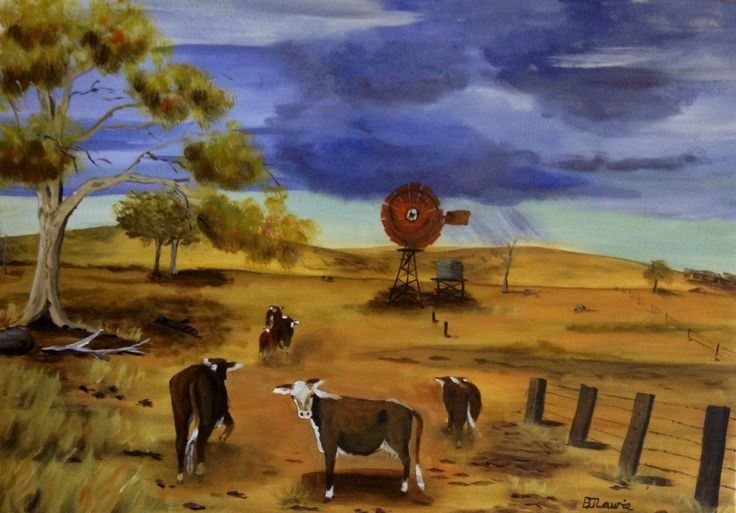 To green pastures ! By Belinda Laurie