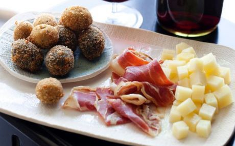 Fried Olives Recipe by Ingrid Hoffmann