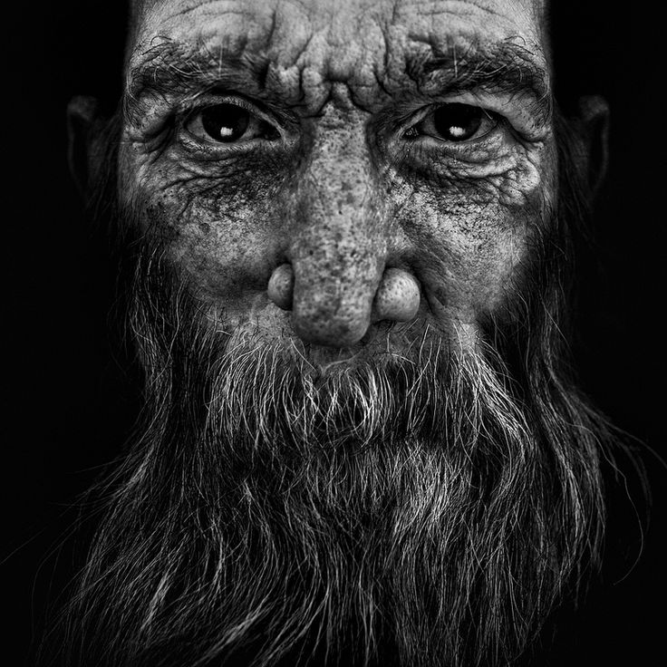Old man, powerful face, intense eyes, Mirror of the Soul, beard, expressive, expression, lines of life, wrinckles, a face with many stories to tell, portrait, photo b/w.