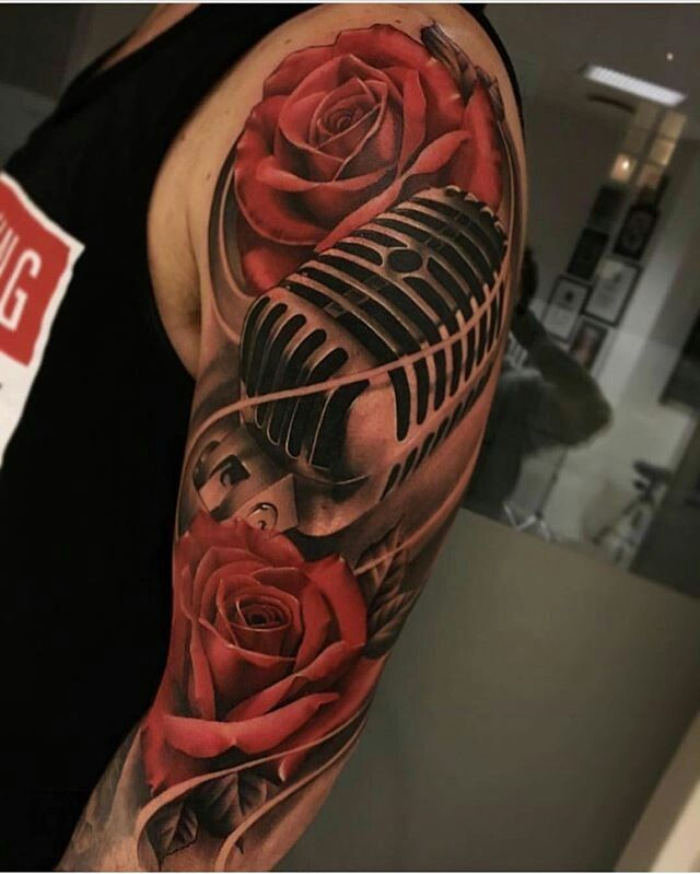 fca28abef Pin by Memphis on Inked men | Tatuajes de rosas, Tatuajes de rosas rojas,  Tatuajes
