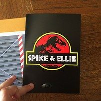 "36 Things Everyone Who Loves ""Jurassic Park"" Will Appreciate: Wedding Invitations!"