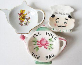 Vintage Let Me Hold The Bag Teapot Tea Bag от 3FunkyMonkeys