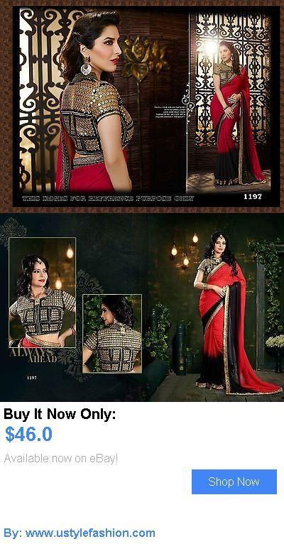 Cultural and ethnic clothing: Bollywood Party Wear Lehenga Indian Designer Wedding Bridal Pakistani Saree Sari BUY IT NOW ONLY: $46.0 #ustylefashionCulturalandethnicclothing OR #ustylefashion
