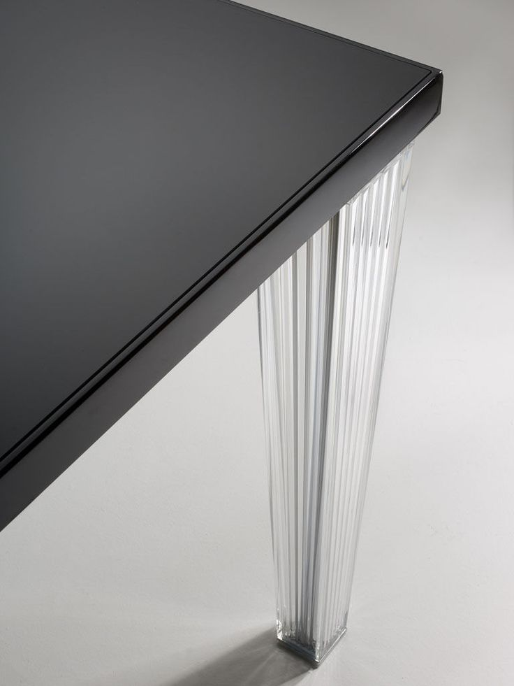 Tavolo Top Top - Kartell  #glass #black #kartell #table