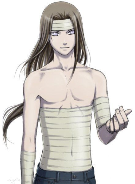 Neji's just like 'can you help me with these bandages?'.......YES!:
