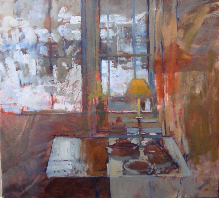 The Studio in Winter  Pamela Kay