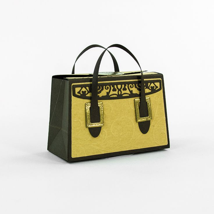 Tonic Studios Kensignton Handbag Die Set 763E