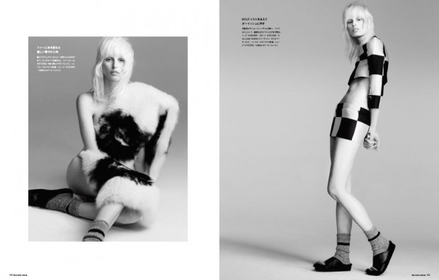awesome Numéro Tóquio   Editorial de Moda Junho 2013   Karolina Kurkova por Nino Muñoz