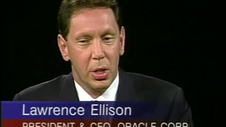 Larry Ellison interview with Charlie Rose (1995)