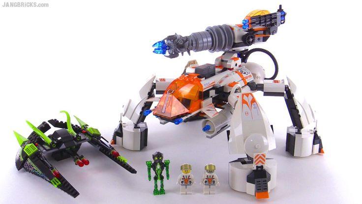 JANGBRiCKS LEGO reviews & MOCs: LEGO Mars Mission MT-201 Ultra Drill Walker from 2...