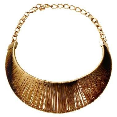 Bronze collar necklace | www.wearelse.com | #fashion #accessories