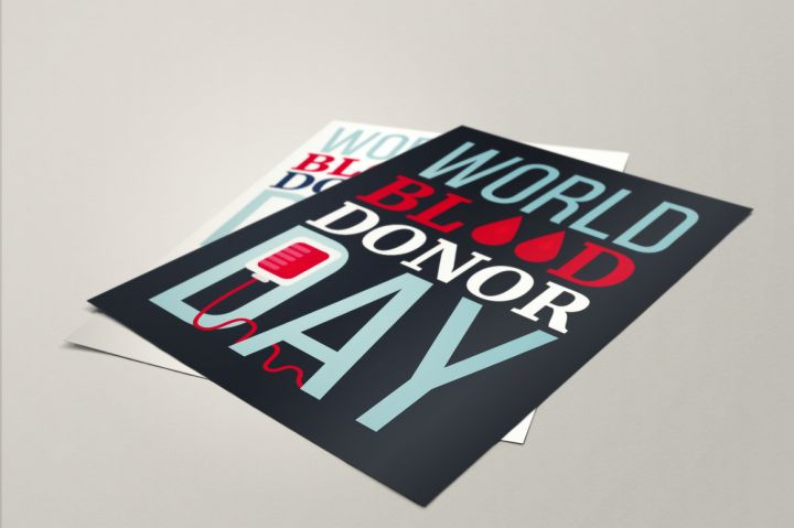 Blood Donor Day Banner By Barsrsind Shop