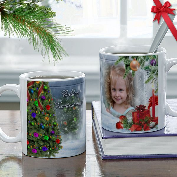 Fényképes karácsonyi bögre - 05.