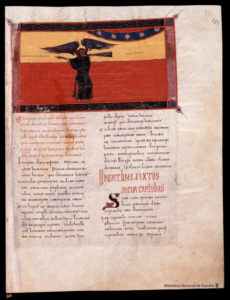 Beato de Liébana. Beato de Liébana , Santo — Manuscrito — 1047 368