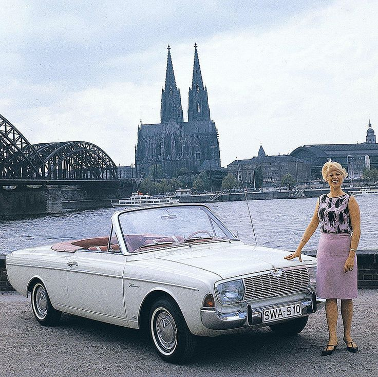 Ford Taunus Cabrio~ https://de.pinterest.com/pietervangent12/ford/