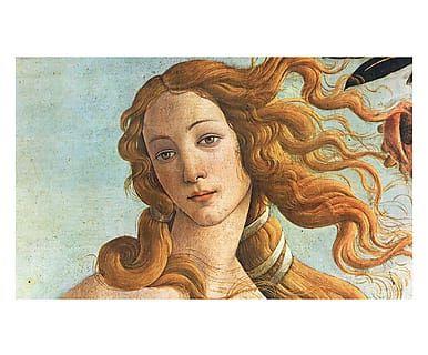 Tappeto multiuso digitale Venere Botticelli