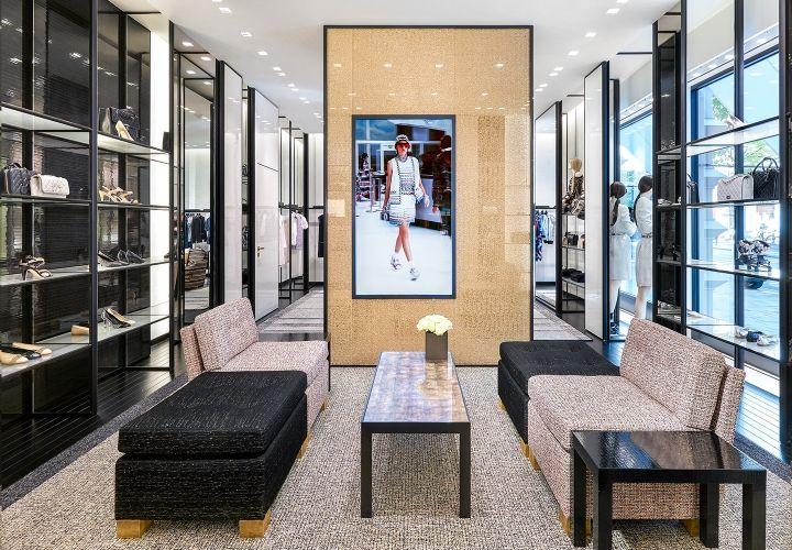Chanel boutique, Stockholm – Sweden » Retail Design Blog