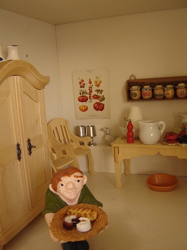 Doll house cook: Favorite Dolls, Dolls House, House Cooking, Doll Houses