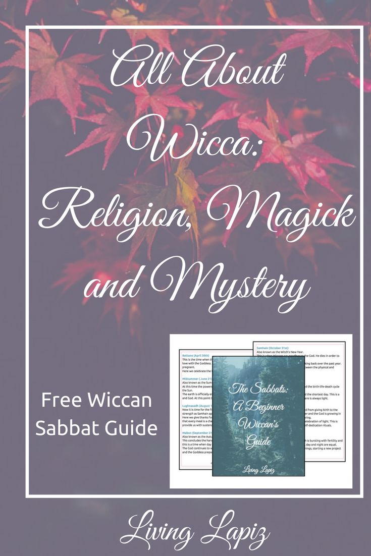 Are you interested in Wicca as a religion? Do you want to learn how to use magick? Do you just think this interesting and want to learn more? Then this post is for you! In this post, I talk about about what Wicca is, the beliefs and the incorporation of magick or witchcraft. This is the perfect post for any beginner Wiccan. Plus I have a free Beginner's Guide to the Wiccan Sabbats! wicca for beginners | witchcraft | wicca | magick