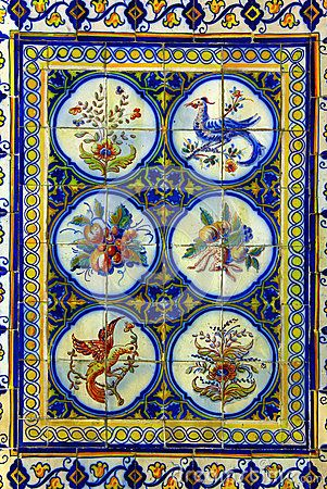 Portuguese Tiles by Tiagoladeira, via Dreamstime