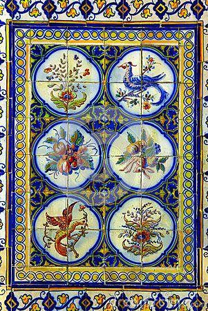 Portuguese Tiles by Tiagoladeira, via Dreamstime