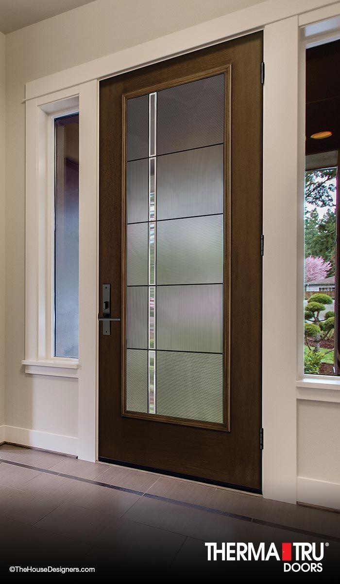 Best Images About FiberClassic Mahogany Collection On Pinterest - Modern fiberglass entry doors