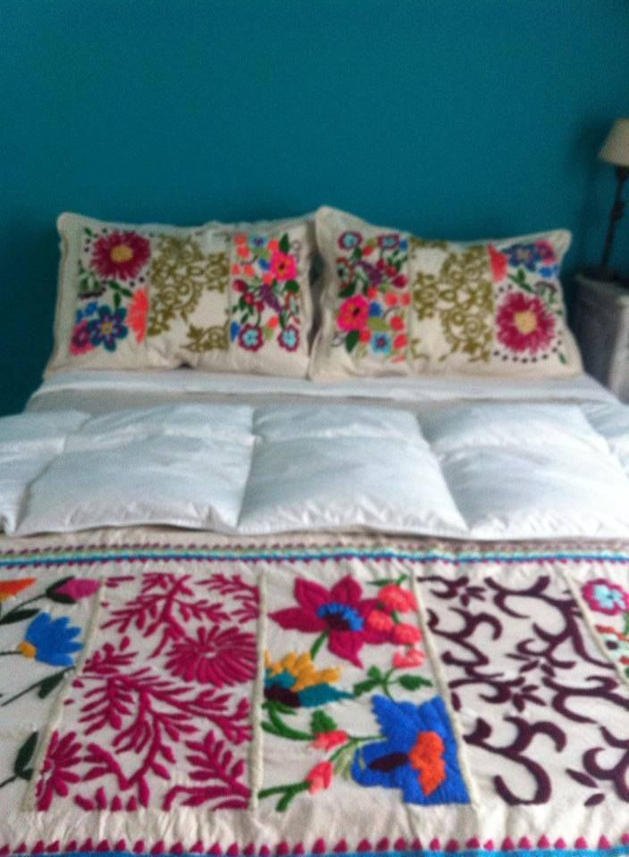 17 best ideas for the house images on pinterest ghana Mexican embroidered bedding