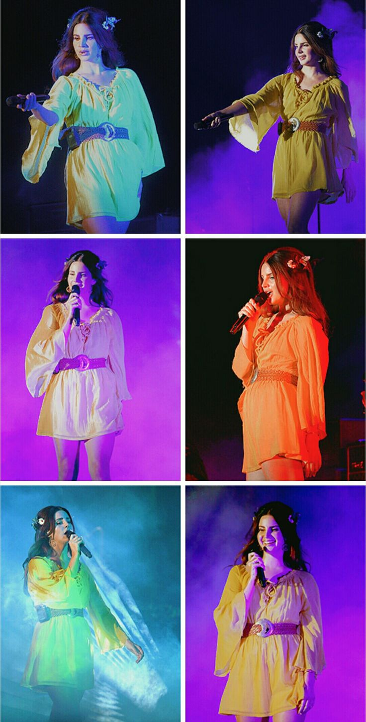 Lana Del Rey performing at Outside Lands music festival in San Francisco #LDR