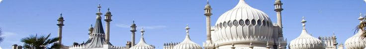 Visit Brighton UK. Royal Pavilion and Brighton Pier. Ex London via train from London Victoria station via Southern or First Capital Connect in 52 minutes.