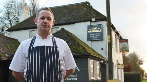 Ex-Rolling Stones & Le Gavroche chef takes on Canterbury pub