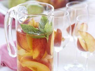 White Peach Sangria - Original Recipe | Fine Wine and Spirits