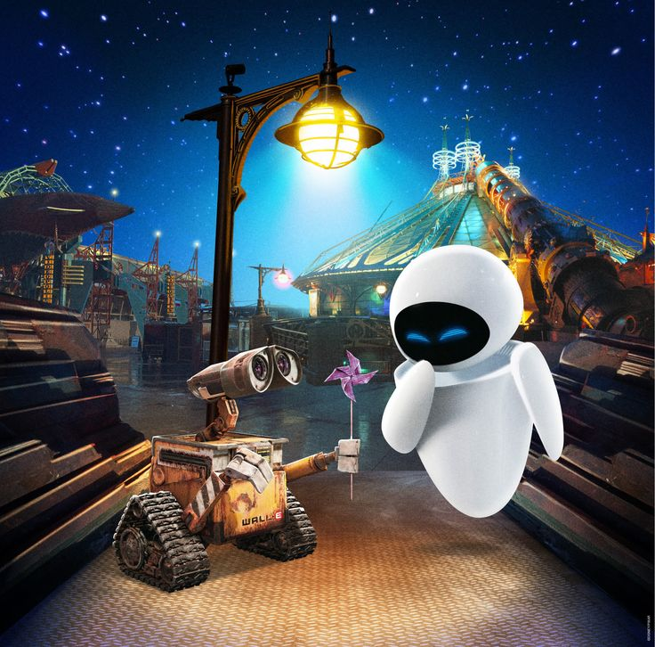 Wall-e and Eve ;)