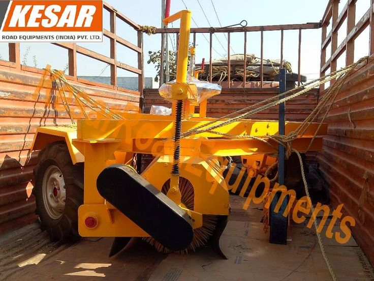 Today we dispatched #HYDRAULIC_BROOMER (Road Sweeper) At #Maharashtra  Kesar Equipments Mr.Dipak Chaudhary - 9825322472 www.kesarequipments.com #asphalthotmixplant #AsphaltEquipments #PaverFinisher #asphaltbatchmixplant #MechanicalBroom #MechanicalBroomer #TractorMountedSweeper #TractorMountedBrooms #WMMPlant #WetMixPlant